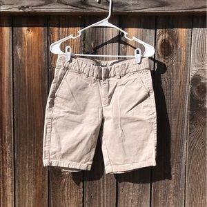 Khakis By Gap The City 9 Inch Bermuda Shorts